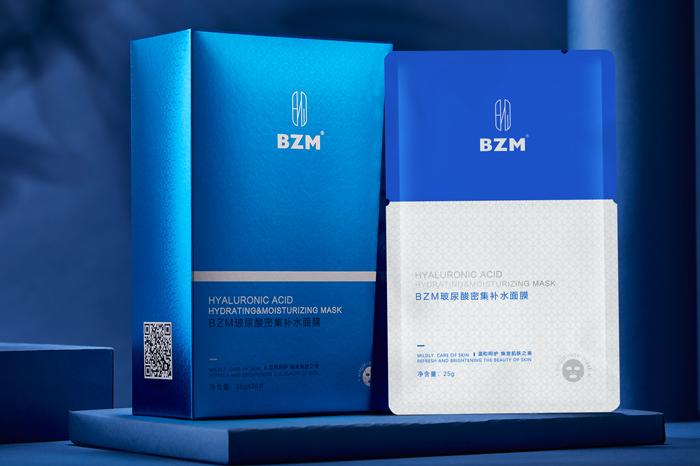 BZM玻尿酸密集补水面膜 膜布精华承载能力很强